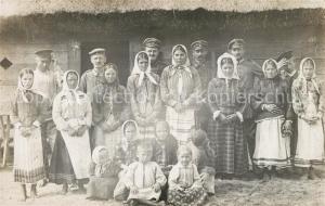 AK / Ansichtskarte Krymno Feldbahn Regiment Frauen Kinder Gruppenfoto Krymno