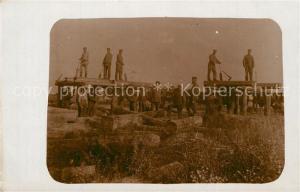 AK / Ansichtskarte Krymno Feldbahn Reegiment  Krymno
