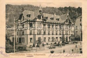 AK / Ansichtskarte Triberg_Schwarzwald Frauenvereinshaus Triberg Schwarzwald