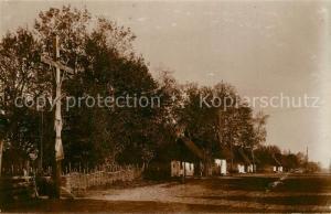 AK / Ansichtskarte Krymno Feldbahn Regiment Dorfansicht Krymno