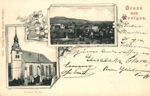 AK / Ansichtskarte Neviges_Velbert Panorama Evangelische Kirche Neviges Velbert