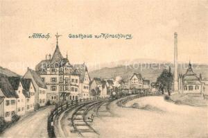 AK / Ansichtskarte Altbach_Esslingen Gasthaus zur Koerschburg