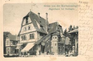 AK / Ansichtskarte Jaegerhaus_Esslingen Kurhausanlage Jaegerhaus Esslingen