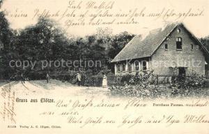 AK / Ansichtskarte Kloetze Forsthaus Pansau Kloetze
