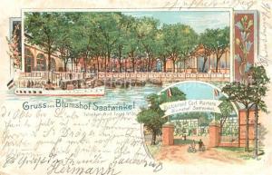 AK / Ansichtskarte Reinickendorf Restaurant Blumshof Saatwinkel Carl Martens Reinickendorf