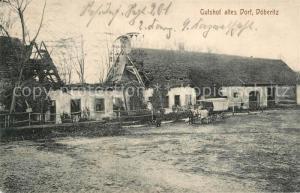 AK / Ansichtskarte Doeberitz_Truppenuebungsplatz Gutshof altes Dorf  Doeberitz