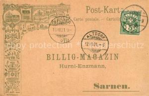 AK / Ansichtskarte Sarnen Altdorf Billig Magazine Sarnen