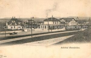 AK / Ansichtskarte Rheinfelden_Baden Bahnhof Rheinfelden_Baden