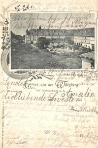 AK / Ansichtskarte Weissenburg_Bayern Wuelzburg Schlossbau Cisterne Weissenburg Bayern