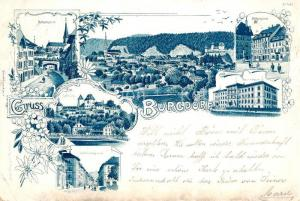 AK / Ansichtskarte Burgdorf_Bern Metzgergasse Hohengasse Schmiedengasse Burgdorf Bern