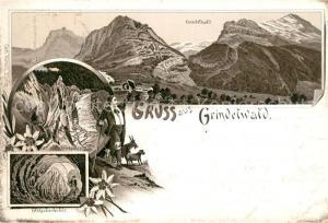 AK / Ansichtskarte Grindelwald Gletscher Gletscherhoehle  Grindelwald