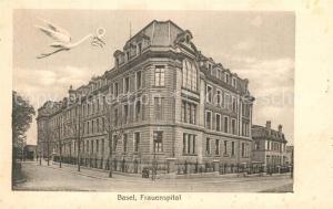 AK / Ansichtskarte Basel_BS Frauenspital Basel_BS