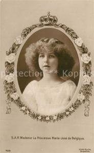 AK / Ansichtskarte Adel_Belgien Princesse Marie Jose  Adel Belgien