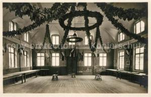 AK / Ansichtskarte Studentika Heidelberg Gasthaus zur Hirschgasse Mensursaal