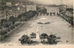 AK / Ansichtskarte Bastia Place Saint Nicolas Monument Bastia