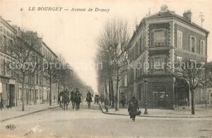 AK / Ansichtskarte Bourget_Seine Saint Denis_Le Avenue de Drancy Bourget_Seine Saint Denis