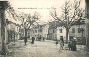 AK / Ansichtskarte Villeneuve la Comptal Place Carnot Villeneuve la Comptal