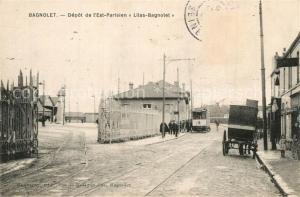 AK / Ansichtskarte Bagnolet Depot de l Est Parisien Lilas Bagnolet Bagnolet