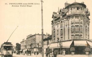 AK / Ansichtskarte Pavillons sous Bois_Les Avenue Victor Hugo Pavillons sous Bois_Les