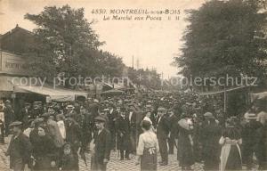AK / Ansichtskarte Montreuil sous Bois Le Marche aux Puces