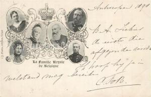 AK / Ansichtskarte Adel_Belgien Famille Royale de Belgique  Adel Belgien