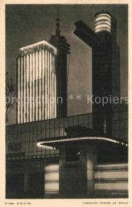 AK / Ansichtskarte Expositions_Worlds_Fair_Chicago_1933 Carillon Tower  Expositions_Worlds