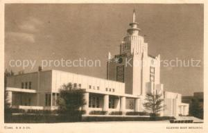 AK / Ansichtskarte Expositions_Worlds_Fair_Chicago_1933 Illnois Host Building  Expositions_Worlds