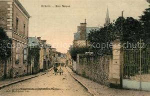 AK / Ansichtskarte Craon_Mayenne Rue Neuve Craon Mayenne