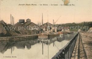 AK / Ansichtskarte Eurville Bienville Les Usines Le Canal Le Chemin de Fer Eurville Bienville
