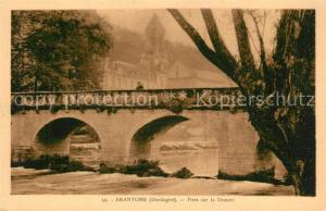 AK / Ansichtskarte Brantome Pont sur la Dronne Brantome
