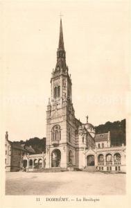AK / Ansichtskarte Domremy la Pucelle_Vosges La Basilique Domremy la Pucelle_Vosges