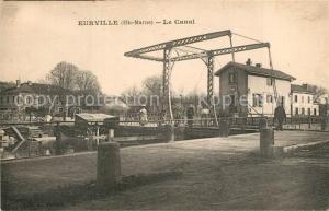AK / Ansichtskarte Eurville Bienville Le Canal Eurville Bienville