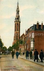 AK / Ansichtskarte Groningen St Josefskerk Groningen
