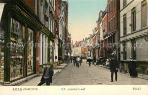 AK / Ansichtskarte Leeuwarden St Jacobstraat Leeuwarden
