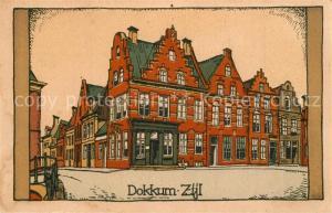 AK / Ansichtskarte Dokkum Zijl Dokkum