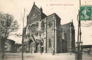 AK / Ansichtskarte Montauban_Tarn et Garonne Eglise St Jean