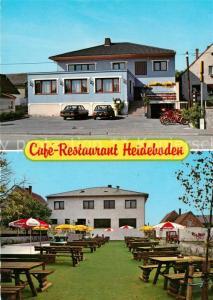 AK / Ansichtskarte Illmitz Cafe Restaurant Heideboden Illmitz