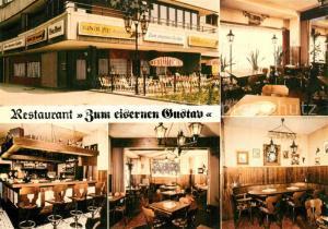 AK / Ansichtskarte Berlin Restaurant Zum eisernen Gustav Bar Gastraeume Berlin