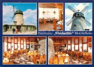 AK / Ansichtskarte Heichelheim Gaststaette Windmuehle Gastraeume Heichelheim
