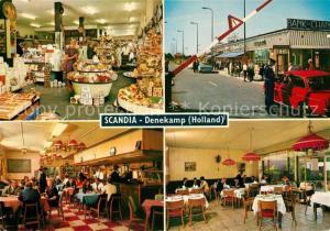 AK / Ansichtskarte Denekamp Restaurant Scandia Grensbasar Hollands Duitse Grens Denekamp
