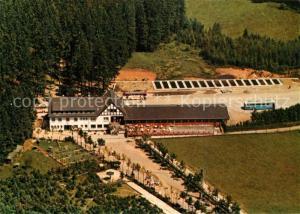 AK / Ansichtskarte Oberhundem Waldhaus Hirschgehege Fliegeraufnahme Oberhundem