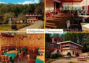 AK / Ansichtskarte Bistensee Waldgasthaus Baumgarten Bistensee