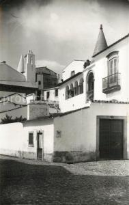 AK / Ansichtskarte Evora Um aspecto da Casa Soure Evora