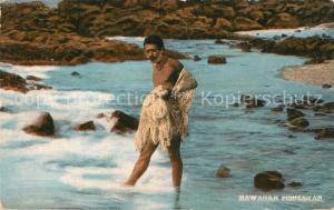 AK / Ansichtskarte Hawaii_US State Hawaiian Fisherman