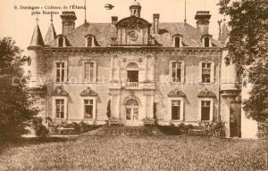 AK / Ansichtskarte Nontron Chateau de l'Etang pres Nontron Nontron
