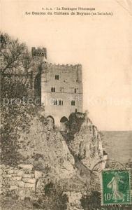 AK / Ansichtskarte Beynac et Cazenac Le Donjon du Chateau de Beynac Beynac et Cazenac