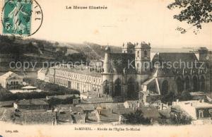 AK / Ansichtskarte Saint Mihiel Abside de l'Eglise St Michel Saint Mihiel