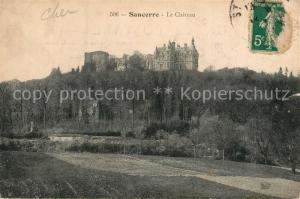 AK / Ansichtskarte Sancerre Le Chateau Sancerre