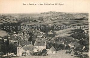AK / Ansichtskarte Sancerre Vue generale de Chavignol Sancerre