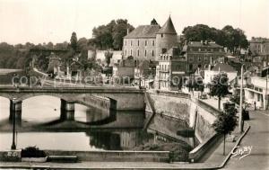 AK / Ansichtskarte Mayenne Pont Neuf Chateau  Mayenne
